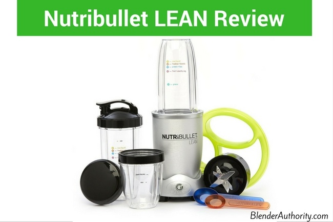 Nutribullet Lean review