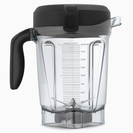 Vitamix Low profile container batch size