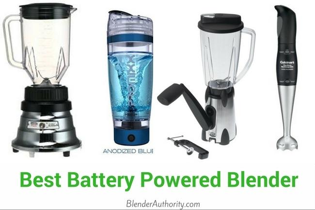Battery Powered Blender Guide