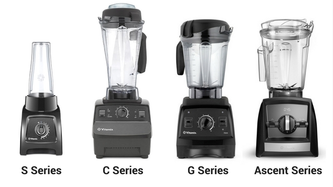 vitamix S-series vs C-series vs G-Series vs Acent