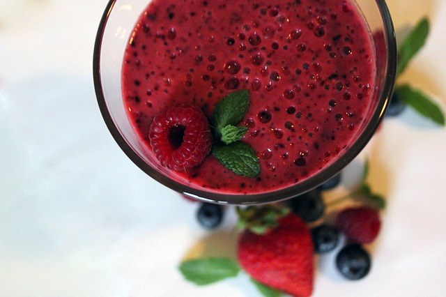 Low Calorie Berry Smoothie Recipe