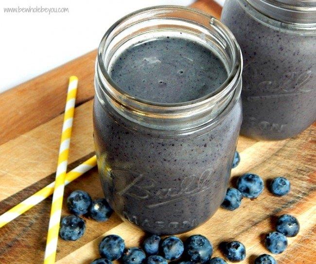 anti inflammatory blueberry smoothie