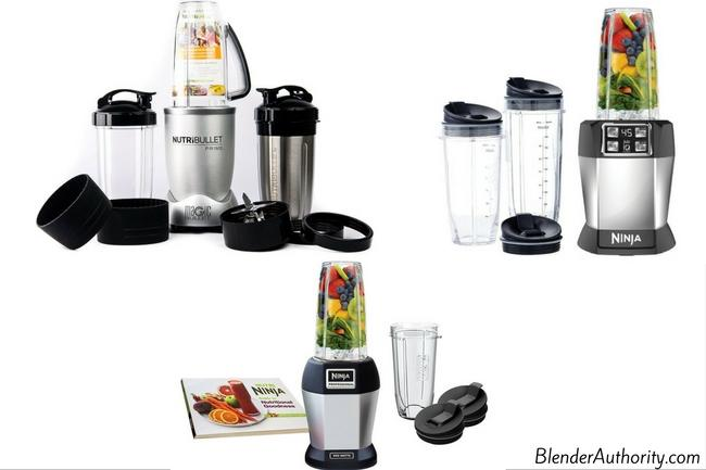 Nutribullet Prime vs Ninja blenders