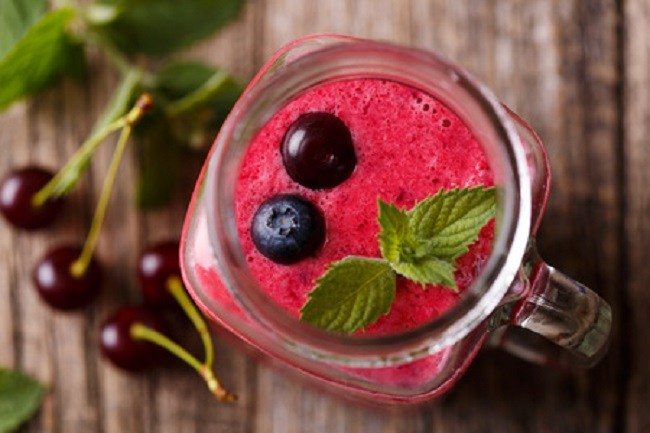 Brain Boost Cherry Smoothie