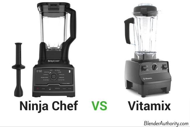 Ninja Chef vs Vitamix