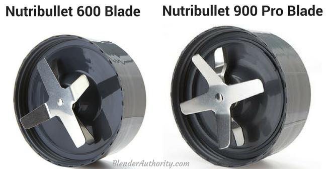 Nutribullet 600 vs 900 Pro blade