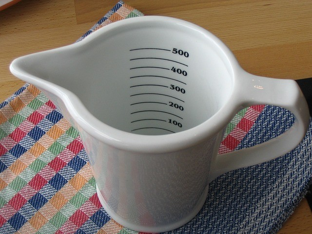 Smoothie Tips Use Measure Cup