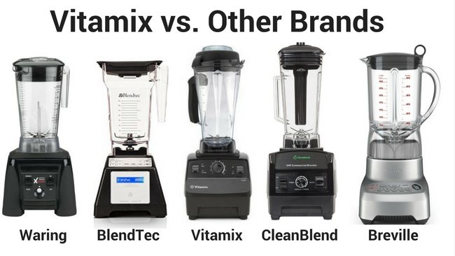 Vitamix vs other blender brands