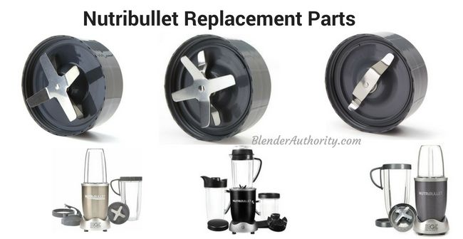 nutribullet replacement parts