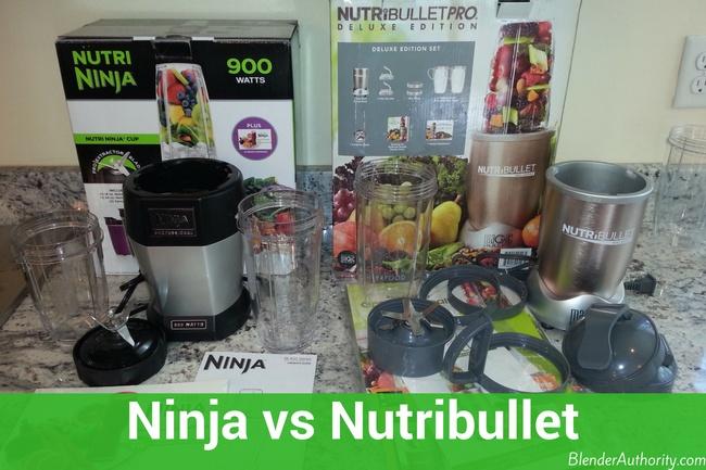 Ninja versus Nutribullet Blenders