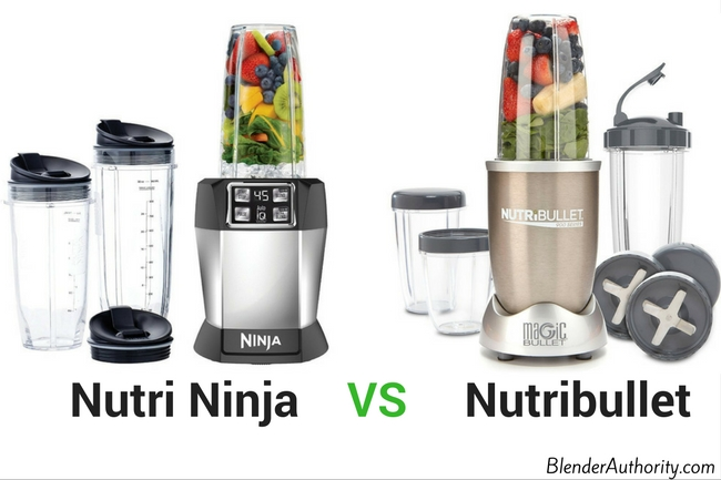 Ninja vs Nutribullet Blender