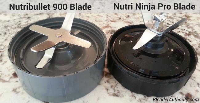 Nutribullet versus Ninja blender blade