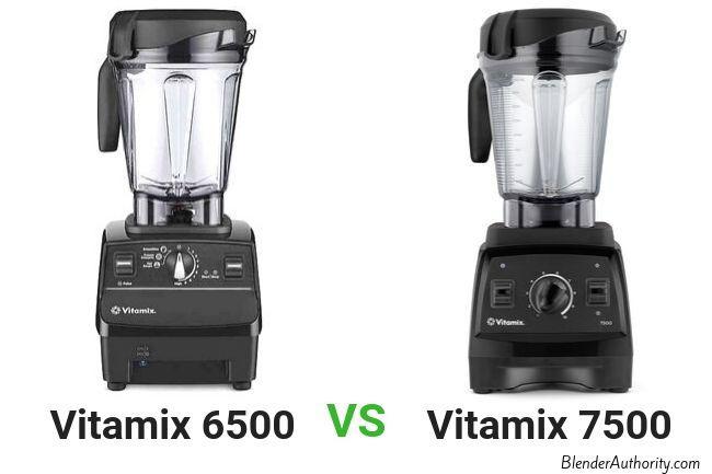 Vitamix 6500 vs 7500 comparison