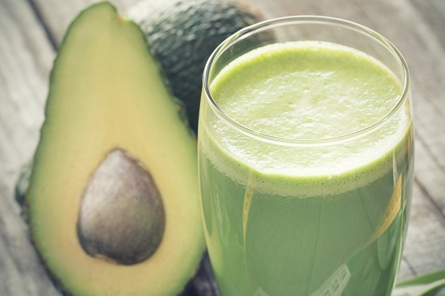 Keto avocado smoothie