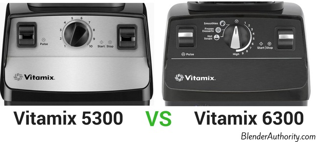 Vitamix 5300 vs 6300 comparison
