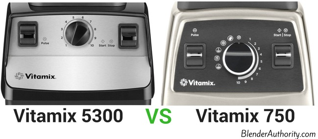 Vitamix 5300 vs 750 comparison