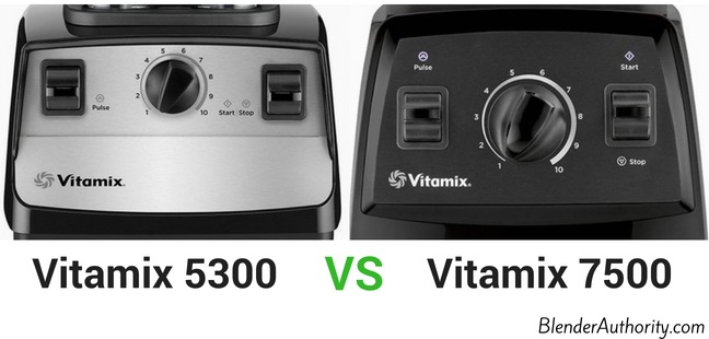 Vitamix 5300 vs 7500 comparison