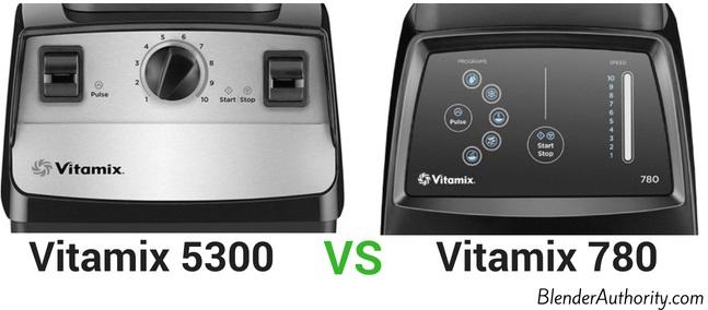 Vitamix 5300 vs 780 comparison
