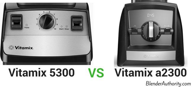 Vitamix 5300 vs Ascent a2300 comparison