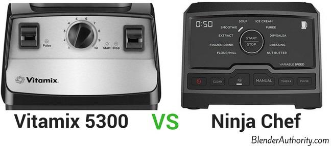 Vitamix 5300 vs Ninja Chef
