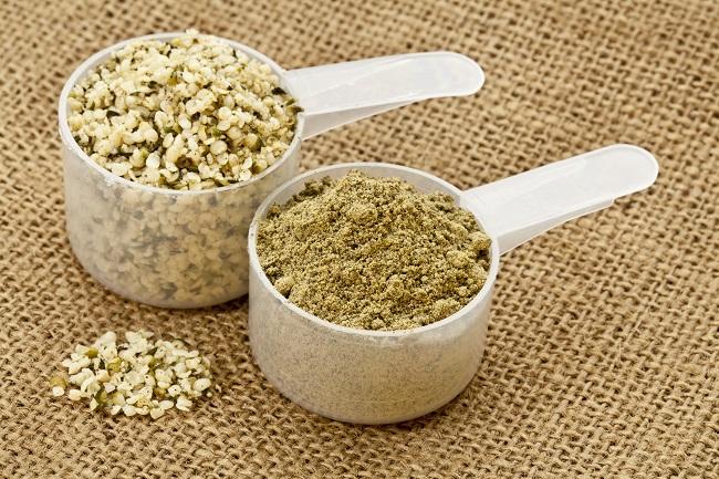 Hemp seeds and Hemp powder