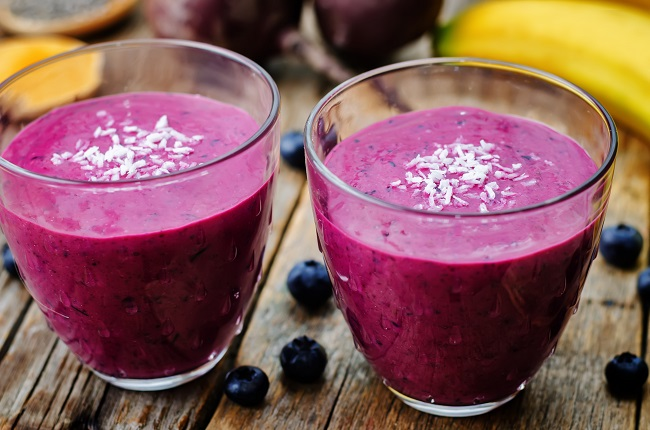 Tropical Maqui Berry Smoothie