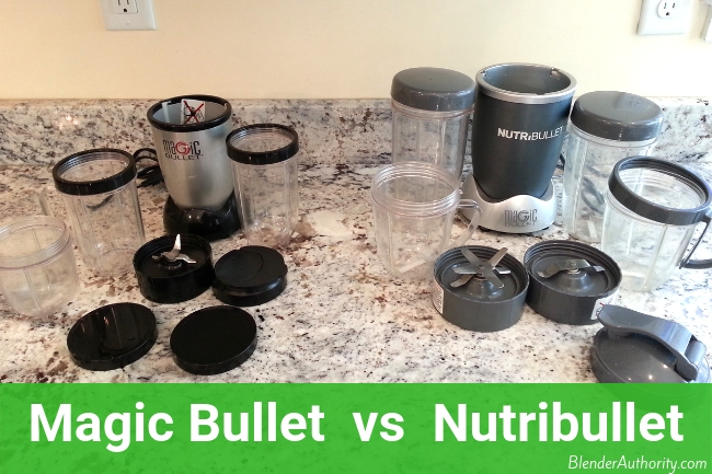 Magic Bullet vs Nutribullet Comparison