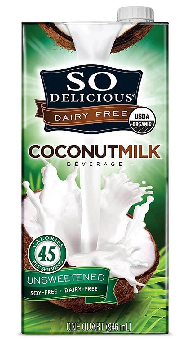 SO DELICIOUS Dairy Free Organic Coconut Milk Beverage