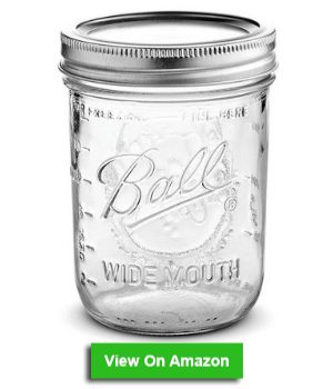 Airtight jars for frozen smoothies