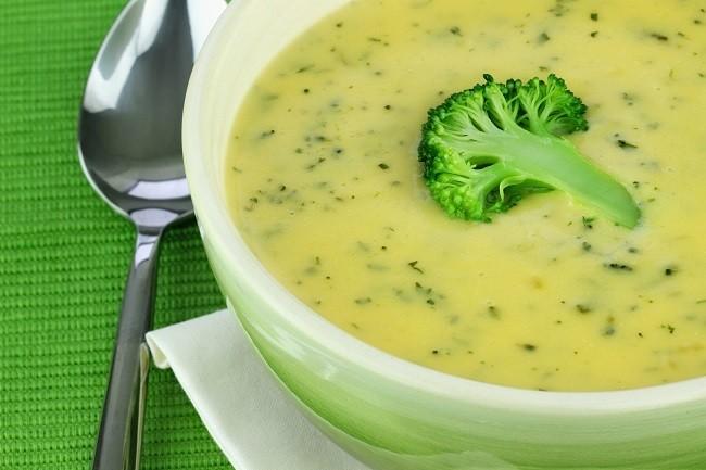 Vitamix savory broccoli soup