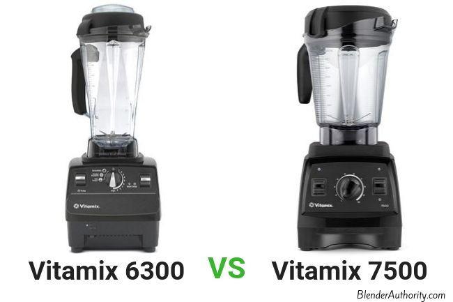 Vitamix 6300 vs 7500 comparison