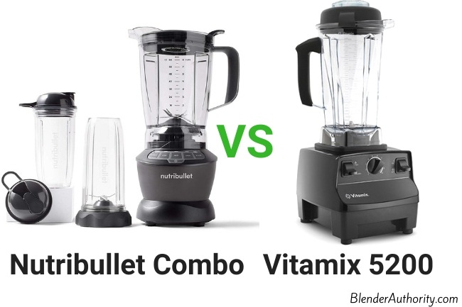 Full size Combo vs Vitamix