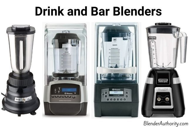 Compare bar blenders from Vitamix and Waring
