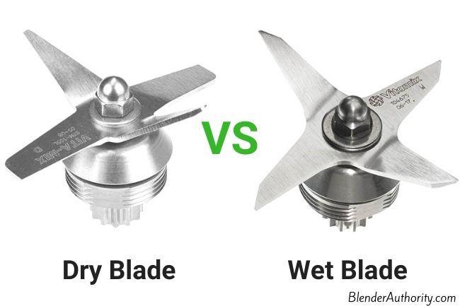 Compare Vitamix Dry Blade versus Wet Blade
