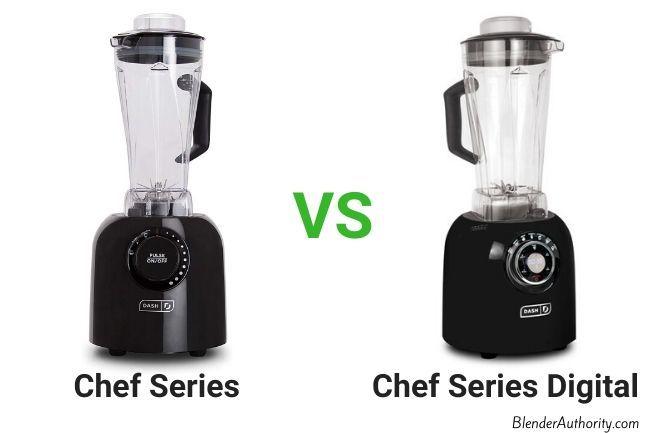 Dash Chef Series Power Blender vs Digital Blender