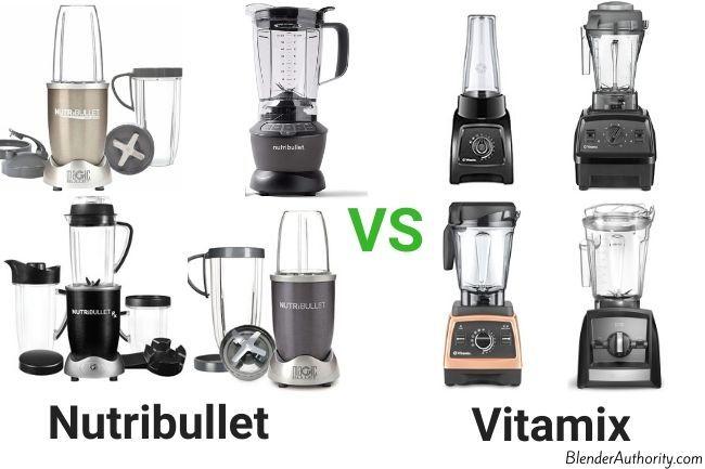Nutribullet vs Vitamix Comparison