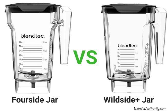 Blendtec Fourside vs Wildside Jars