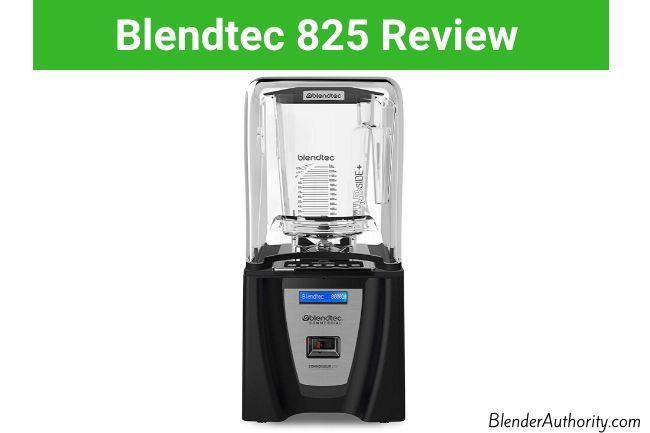 Blendtec Connoisseur 825 Review
