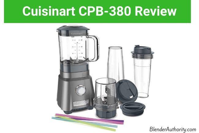 Cuisinart CPB-380 Hurricane Compact Juicing Blender Review