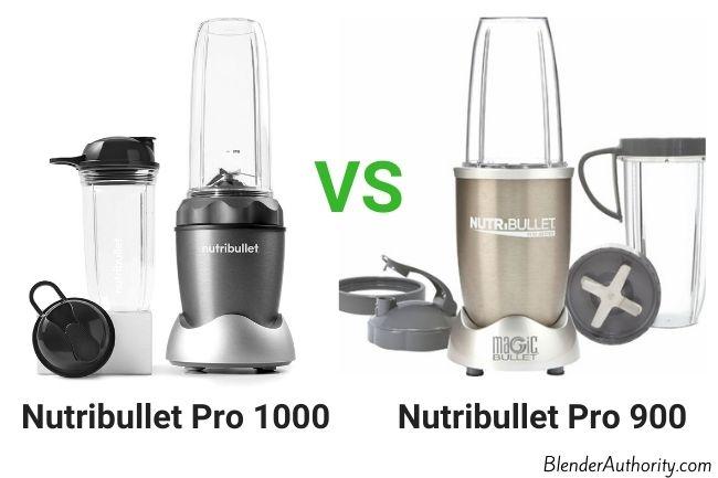 Nutribullet 1000 vs 900 blenders