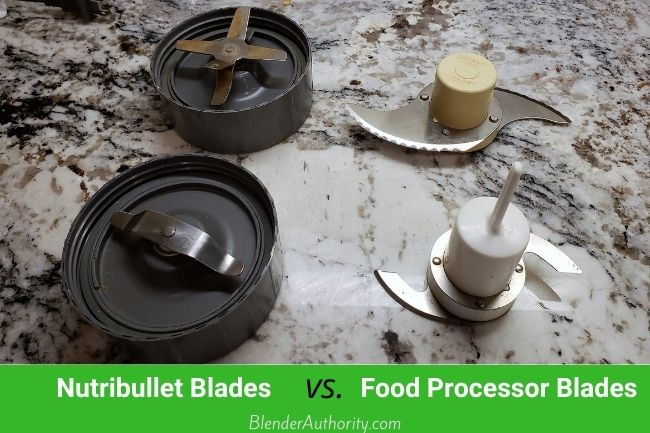 Nutri Bullet blades compared to Food Processing Blades